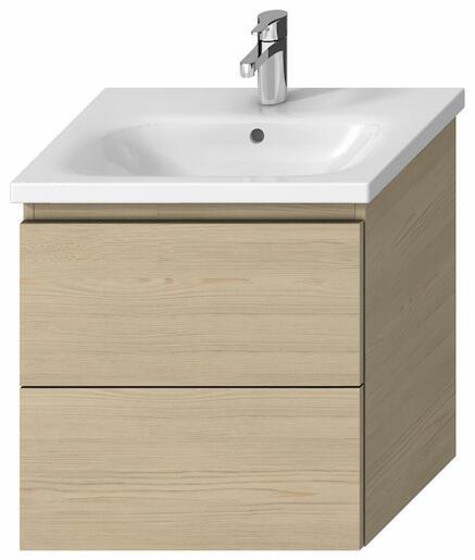 Kúpeľňová skrinka pod umývadlo Jika Mio-N 57x44,5x59 cm v dekore jaseň H40J7144013421
