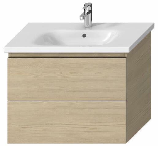 Kúpeľňová skrinka pod umývadlo Jika Mio-N 75x44,5x59 cm v dekore jaseň H40J7164013421