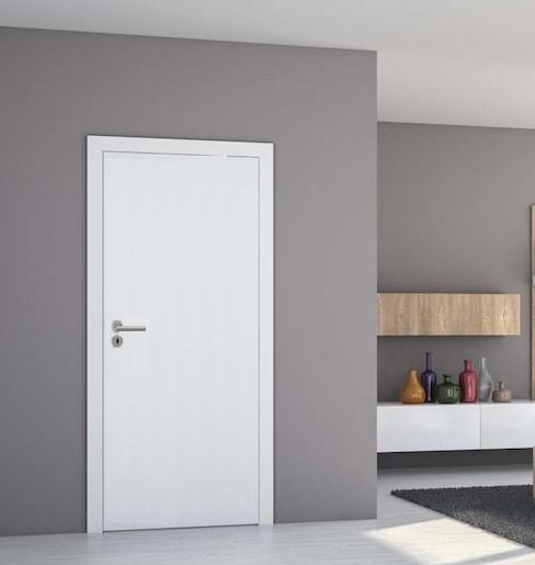Interiérové dvere Naturel Ibiza pravé 60 cm biele matné IBIZABM60PB