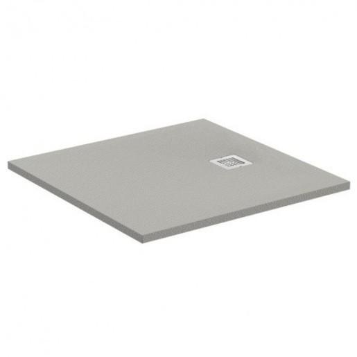 Sprchová vanička štvorcová Ideal Standard Ultraflat S 90x90 cm liaty mramor šedá K8215FS