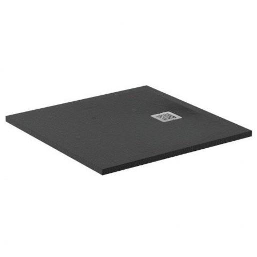 Sprchová vanička štvorcová Ideal Standard Ultraflat S 90x90 cm liaty mramor čierna K8215FV