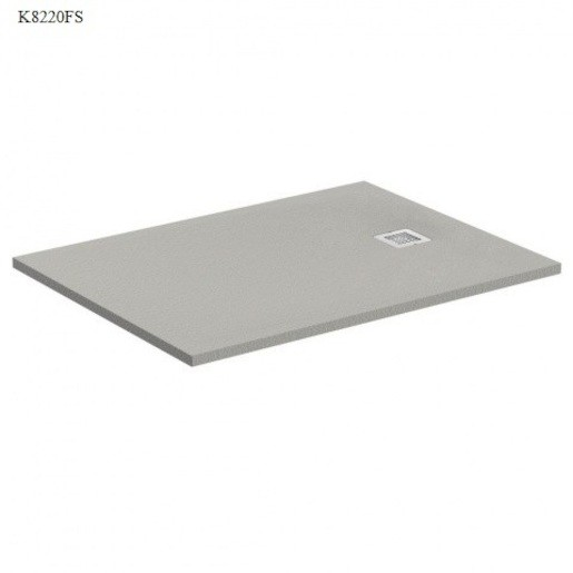 Sprchová vanička obdĺžniková Ideal Standard Ultraflat S 100x90 cm liaty mramor šedá K8220FS