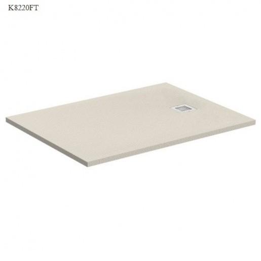 Sprchová vanička obdĺžniková Ideal Standard Ultraflat S 100x90 cm liaty mramor piesková K8220FT