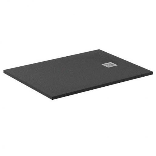 Sprchová vanička štvorcová Ideal Standard Ultraflat S 90x90 cm liaty mramor čierna K8230FV