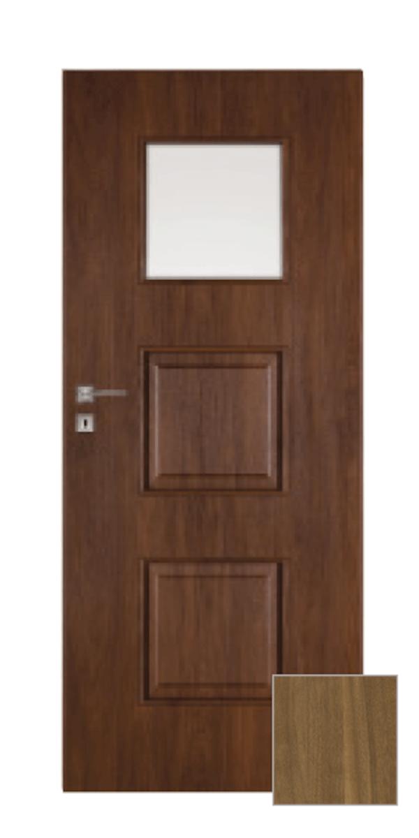 Interiérové dvere Naturel Kano pravé 60 cm orech karamelový KANO20OK60P
