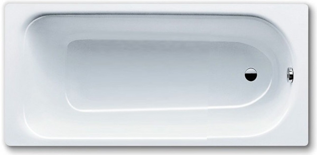 Obdĺžniková vaňa Kaldewei EUROWA 140x70cm smaltovaná oceľ alpská biela 119500010001 - Kaldewei Eurowa 140 x 70 cm 119500010001