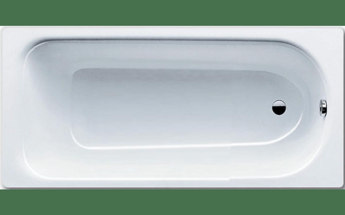Obdĺžniková vaňa Kaldewei EUROWA 150x70cm smaltovaná oceľ antislip alpská biela 119630000001 - Kaldewei Eurowa 150 x 70 cm 119630000001