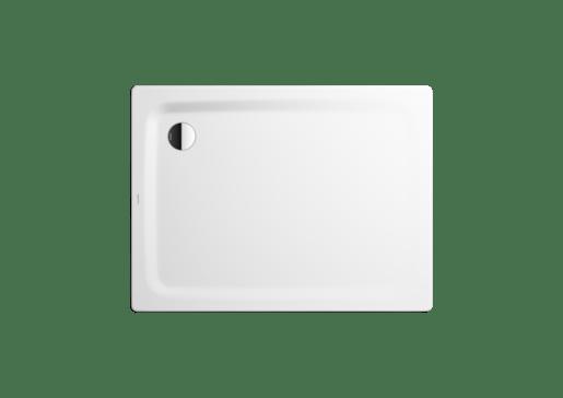 Sprchová vanička obdĺžniková Kaldewei Superplan 404-2 100x90 cm smaltovaná oceľ alpská biela 430448043001