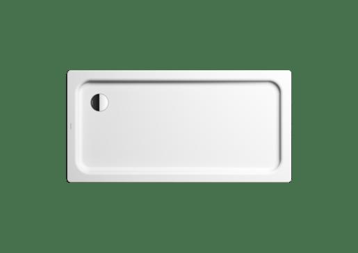 Sprchová vanička obdĺžniková Kaldewei Duschplan Xxl 140x100 cm smaltovaná oceľ alpská biela 432700013001