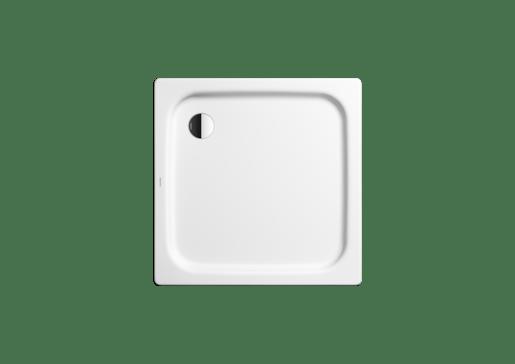 Sprchová vanička štvorcová Kaldewei Duschplan 542-2 80x80 cm smaltovaná oceľ alpská biela 440548043001