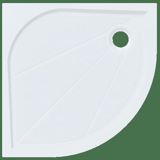Sprchová vanička štvrťkruhová Siko Limnew 90x90 cm liaty mramor LIMNEW90S
