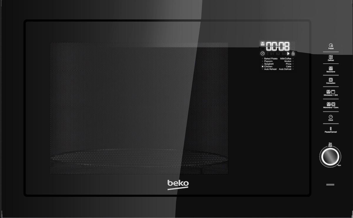 Vstavaná mikrovlnná rúra Beko čierna MGB25333BG