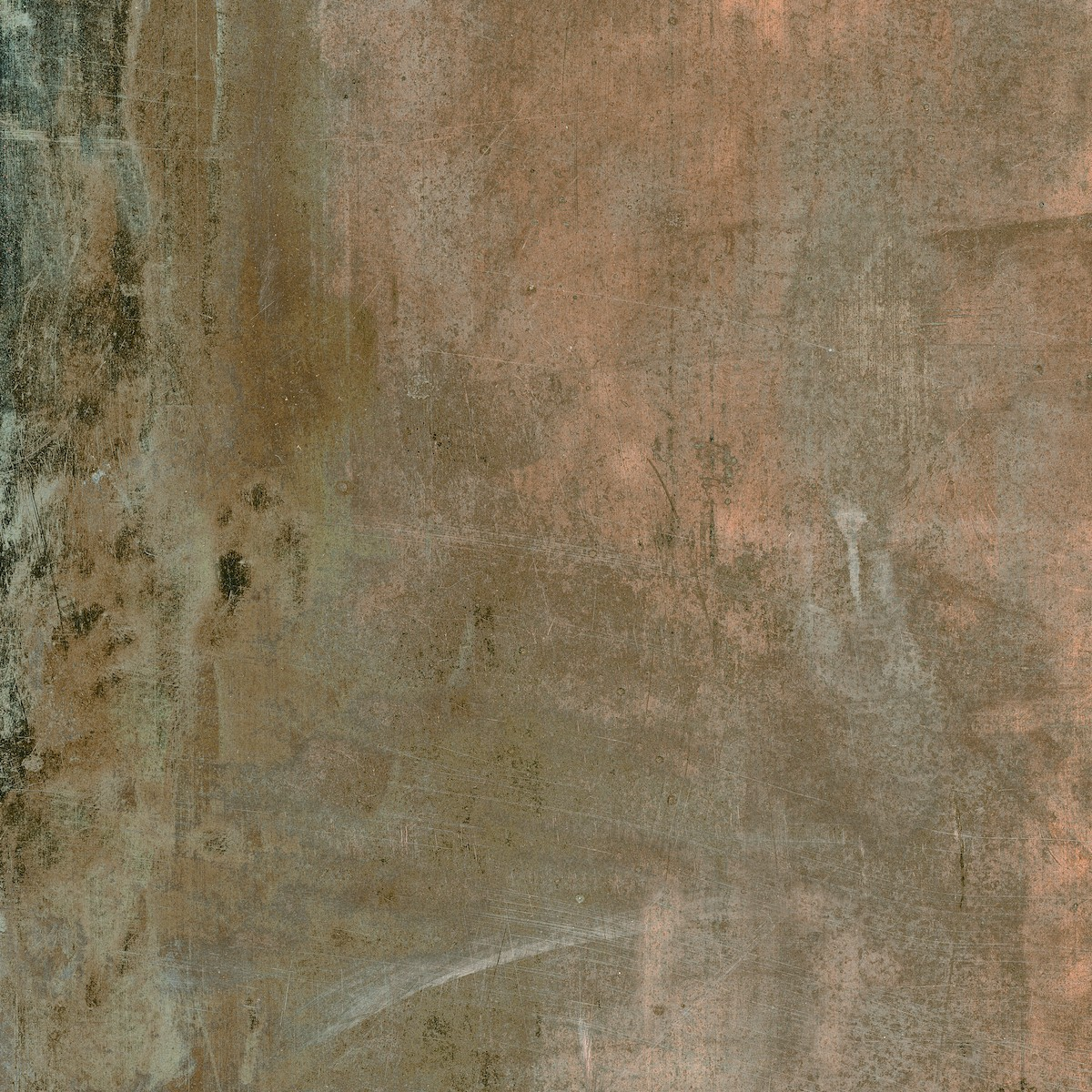 Dlažba Ege Magma copper 45x45 cm mat MGM0645