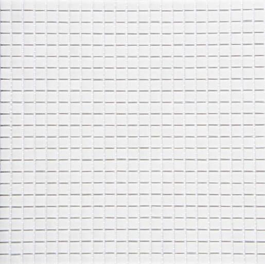 Sklenená mozaika Mikros Bianco 30x30 cm mat MIKROSBI