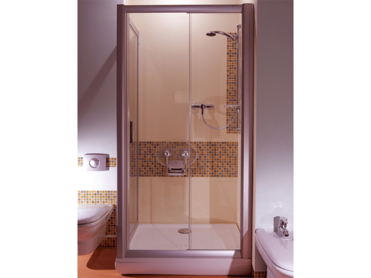 Sprchové dvere 120x190 cm Ravak Rapier chróm matný 0NNG0U0PZ1
