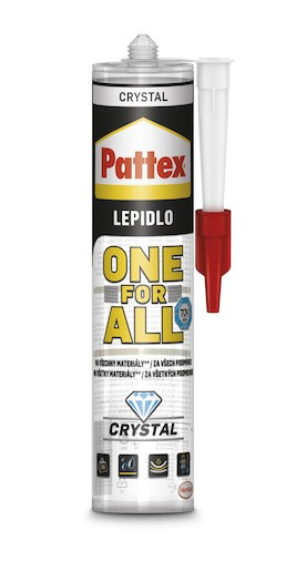 Lepidlo Pattex All For One crystal 290 g PATTEXOFACR