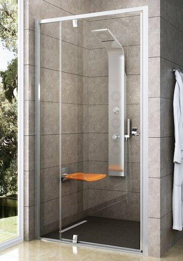Sprchové dvere 120x190 cm Ravak Pivot biela 03GG0101Z1