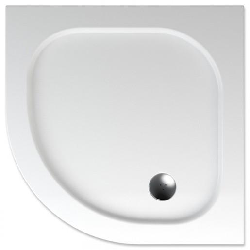 Sprchová vanička štvrťkruhová Teiko Peleus 90x90 cm akrylát V131090N32T06001
