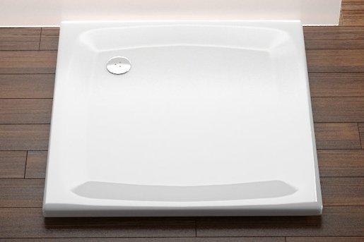 Sprchová vanička štvorcová Ravak Perseus 100x100 cm akrylát A02AA01210