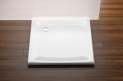 Sprchová vanička štvorcová Ravak Perseus 100x100 cm akrylát A02AA01510
