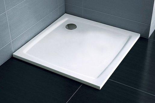 Sprchová vanička štvorcová Ravak Perseus 80x80 cm liaty mramor XA034411010