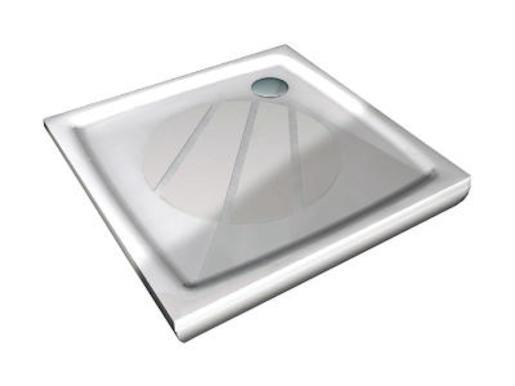 Sprchová vanička štvorcová Ravak Perseus 90x90 cm liaty mramor XA037701010
