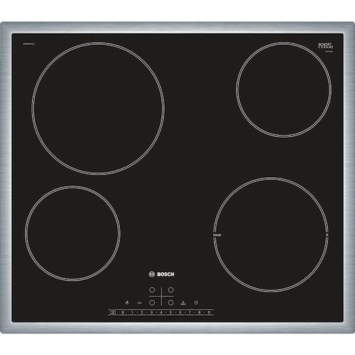 Sklokeramická varná doska Bosch čierna PKE645FP1E