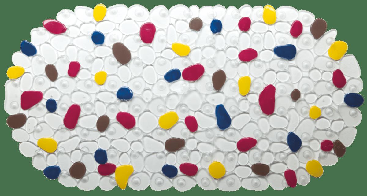 Protišmyková podložka do kúpeľne Multi 35x68 cm viacfarebná PRED202