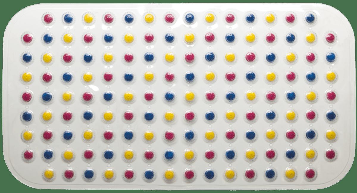 Protišmyková podložka do kúpeľne Multi 72x38 cm viacfarebná PRED203