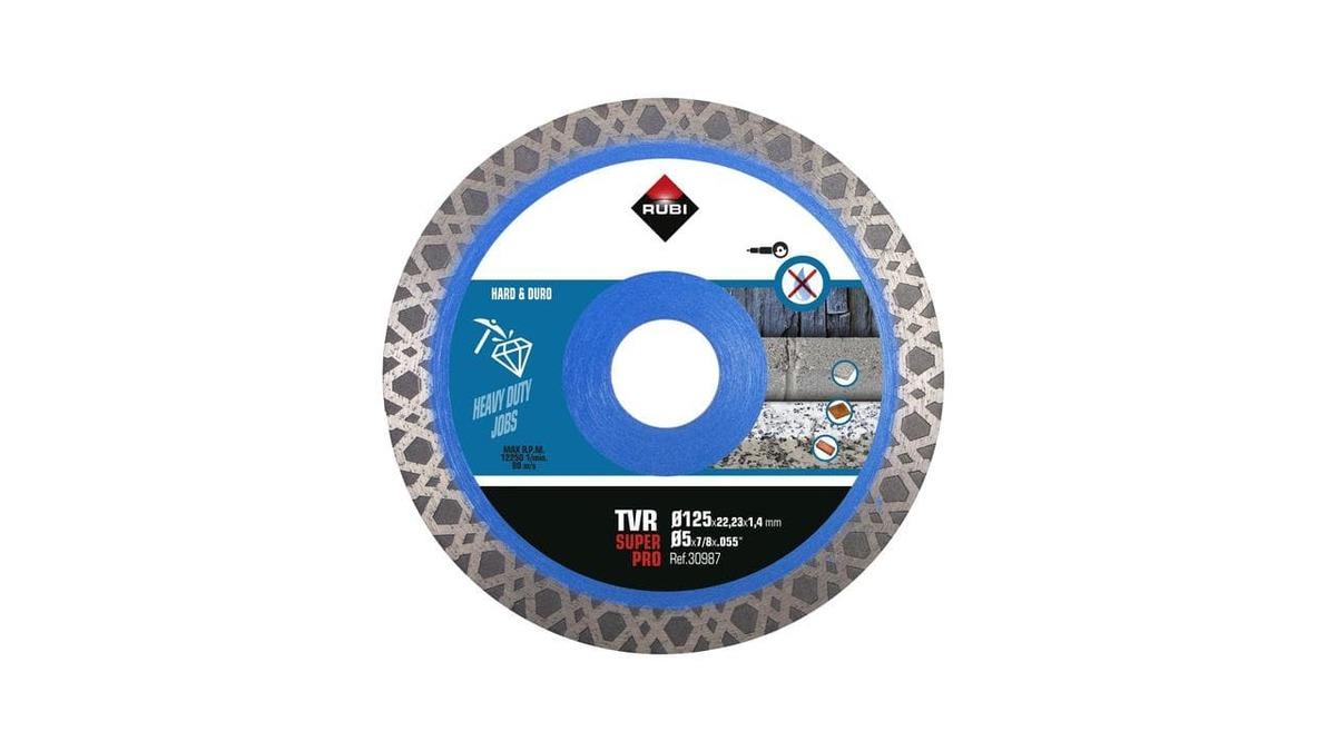 Diamantový Kotúč kontinualni 125 mm Rubi Turbo Viper TVR R30987