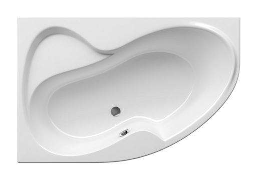 Asymetrická vaňa Ravak Rosa Ii 160x105 cm akrylát ľavá CM21000000