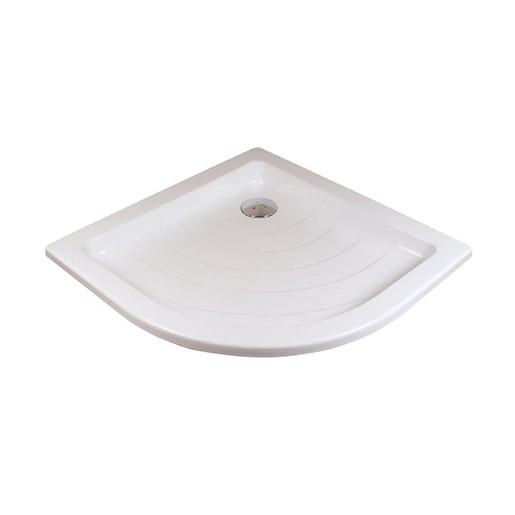 Sprchová vanička štvrťkruhová Ravak Ronda 80x80 cm akrylát A204001320