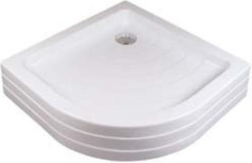 Sprchová vanička štvrťkruhová Ravak Ronda 80x80 cm akrylát A204001120