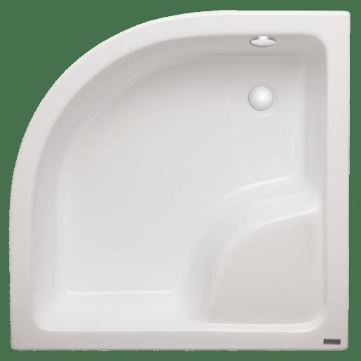 Sprchová vanička štvrťkruhová Laguna Rondo 90x90 cm akrylát RO90HL0