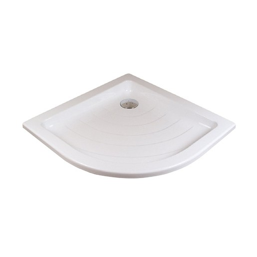 Sprchová vanička štvrťkruhová Ravak Ronda 90x90 cm akrylát A217001220