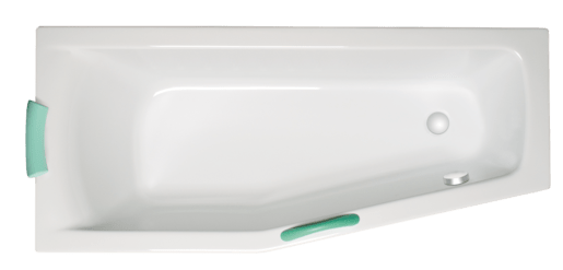 Asymetrická vaňa Laguna Aneta 160x70 cm akrylát SAN1600LHM