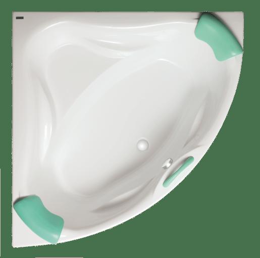 Masážna vaňa Laguna Cornelia 140x140 cm akrylát SCO1400NEWHM