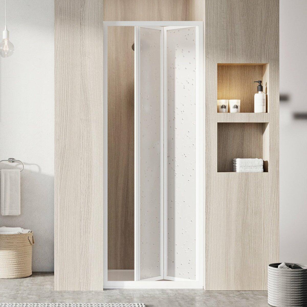 Sprchové dvere 70x185 cm Ravak Supernova biela 01V1010011