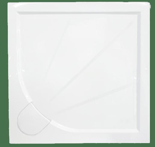 Sprchová vanička štvorcová Siko Limcc 80x80 cm liaty mramor SIKOLIMCC80Q