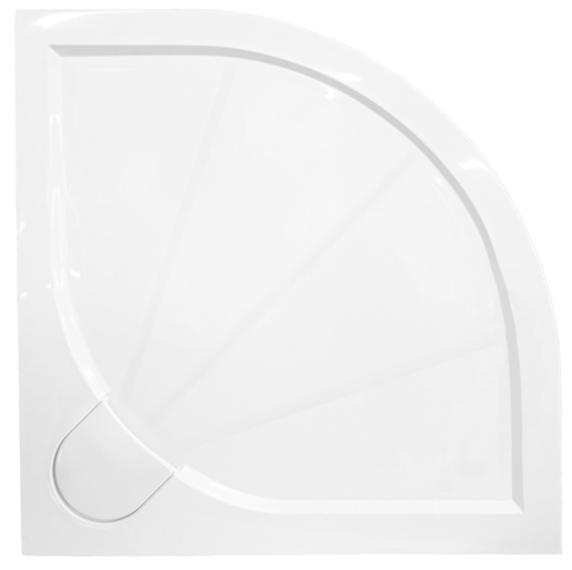Sprchová vanička štvrťkruhová Siko Limcc 90x90 cm liaty mramor SIKOLIMCC90S