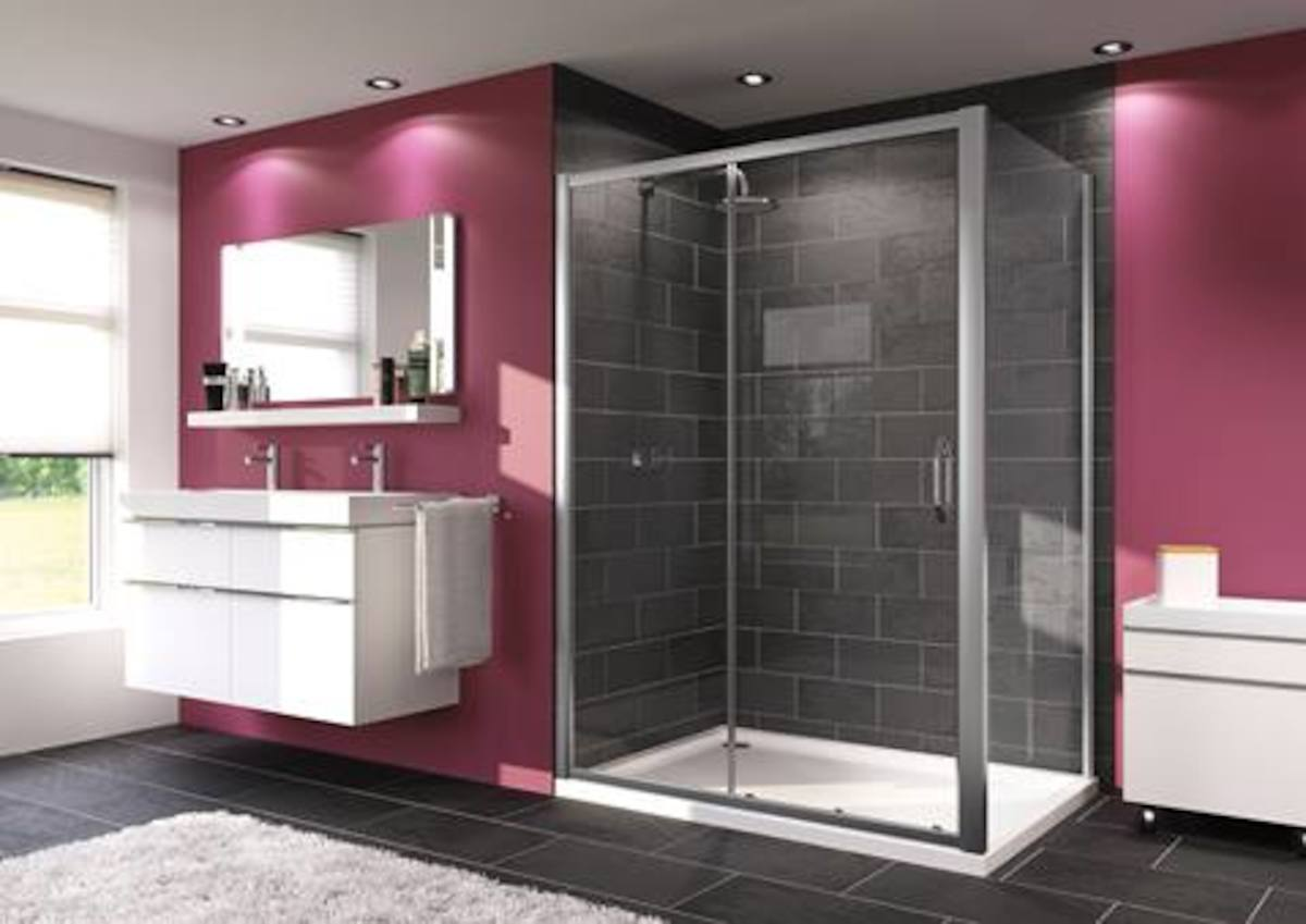 Sprchové dvere 140 cm Huppe Next SIKONEXTD2140ST100