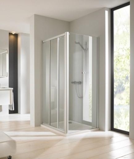 Sprchové dvere 100x90 cm Huppe Next SIKONEXTD3100STE90