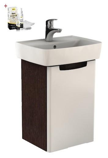 Kúpeľňová skrinka s umývadlom Kolo Rekord 50 cm wenge SIKONKOR40W