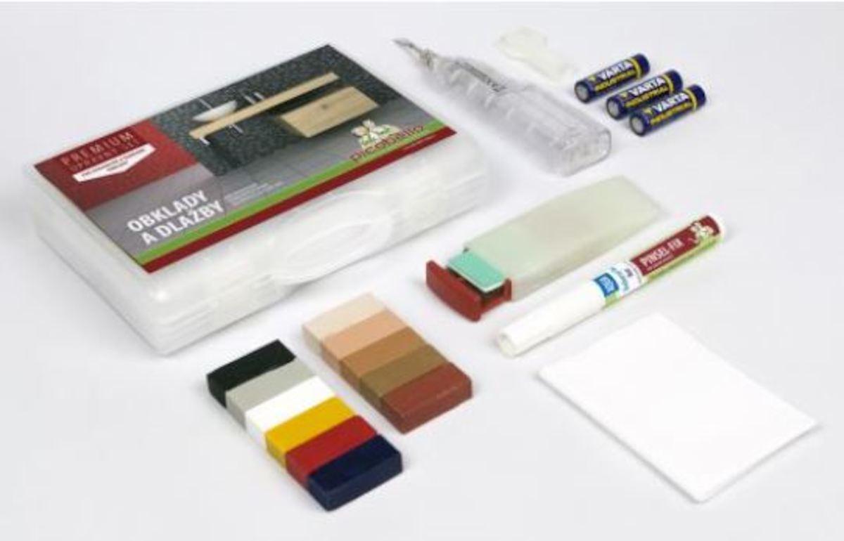 Opravná sada na obklady a dlažby mix farieb SIKOOK61457