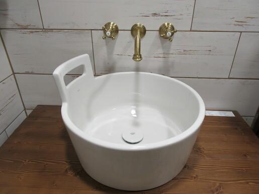 Umývadlo na dosku Jika Art 46x46 cm bez prepadu SIKOSJART10141