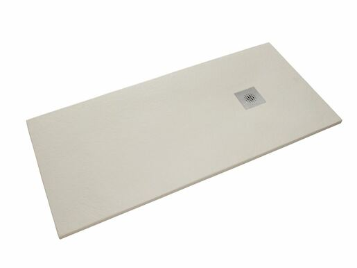 Sprchová vanička obdĺžniková Siko Stone 120x80 cm liaty mramor blanco SIKOSTONE12080SB