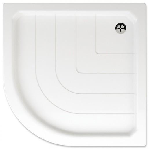 Sprchová vanička štvrťkruhová Teiko Sano 90x90 cm akrylát V131090N32T03001