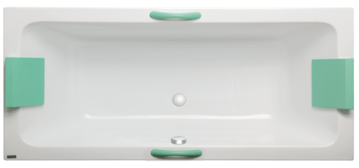 Masážna vaňa Laguna Nora 160x75 cm akrylát SNO1600HM