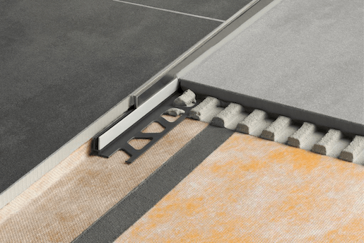 Spádový profil pre sprchové kúty kartáčovaná nerez, 10 mm, 120 cm SPSB100EB120