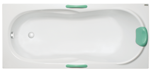 Masážna vaňa Laguna Starlette 170x70 cm akrylát SST1700HM